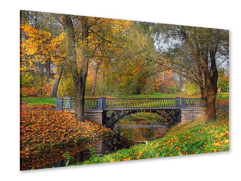 Acrylglasbild Romantischer Park