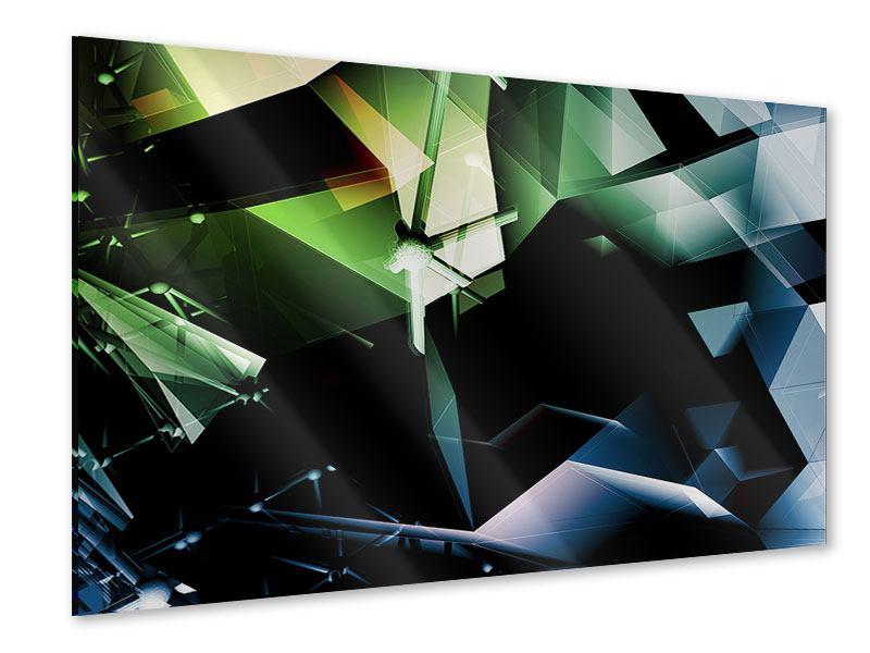 Acrylglasbild 3D-Polygon