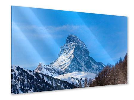 Acrylglasbild Das majestätische Matterhorn