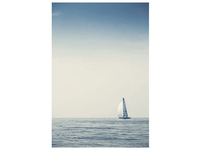 Acrylglasbild Segelboot