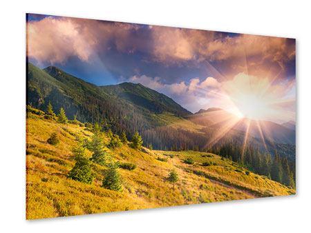 Acrylglasbild Herbstanfang