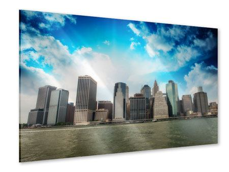Acrylglasbild Skyline Lower Manhattan