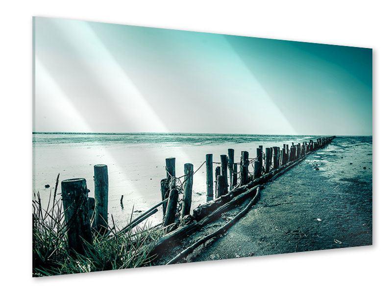 Acrylglasbild Das Wattenmeer