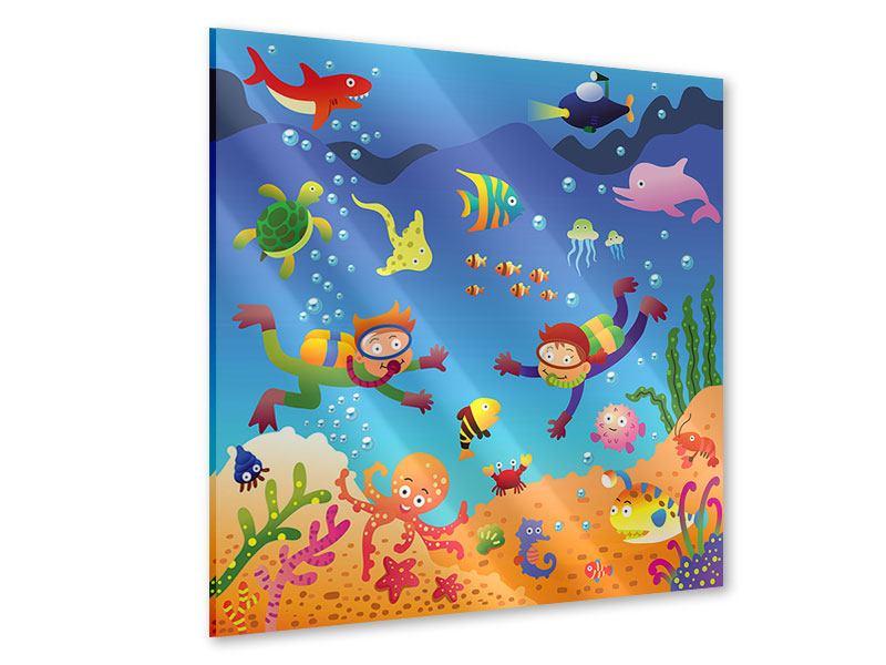 Acrylglasbild Lustige Fische