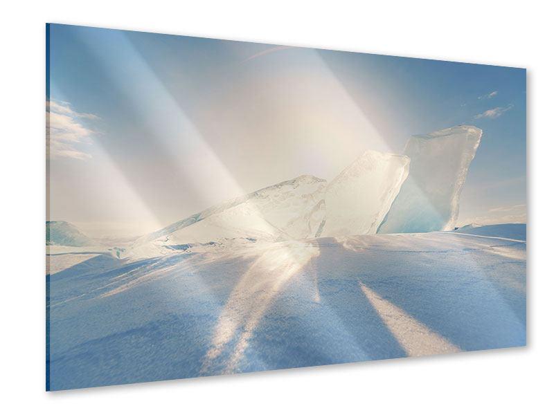 Acrylglasbild Eislandschaft