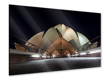 Acrylglasbild Der Lotus-Tempel