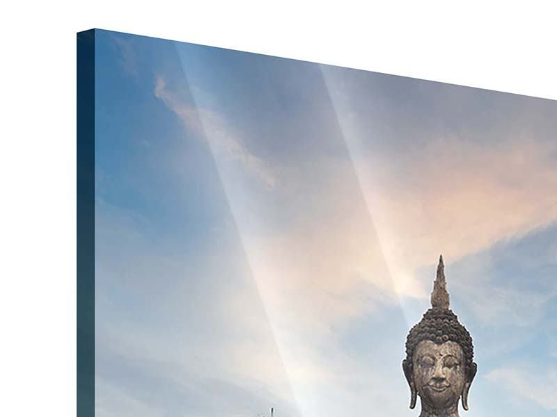 Acrylglasbild Buddha Statue