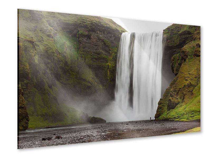 Acrylglasbild Skogafoss
