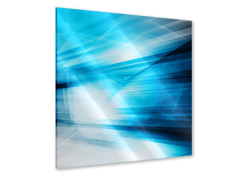 Acrylglasbild Abstrakte Lasershow
