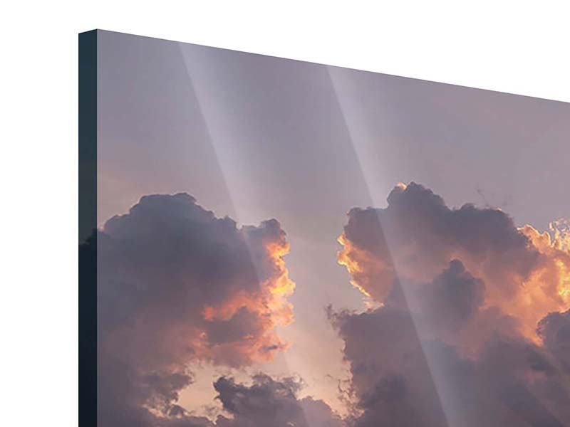 Acrylglasbild Packender Sonnenuntergang
