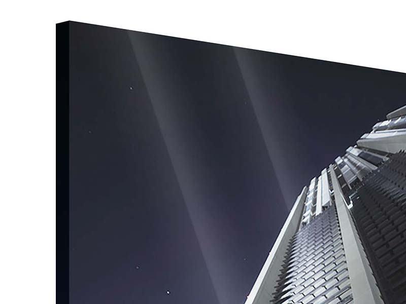 Acrylglasbild Wolkenkratzer in Dubai