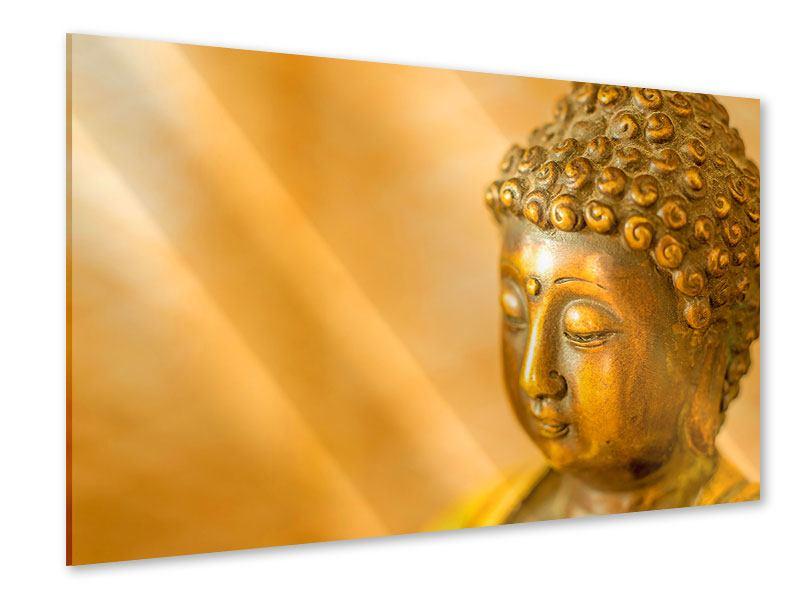 Acrylglasbild Buddha Kopf