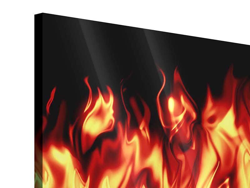 Acrylglasbild Feuerwasser