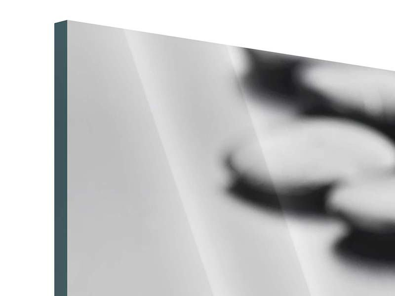 Acrylglasbild Polierte Steine