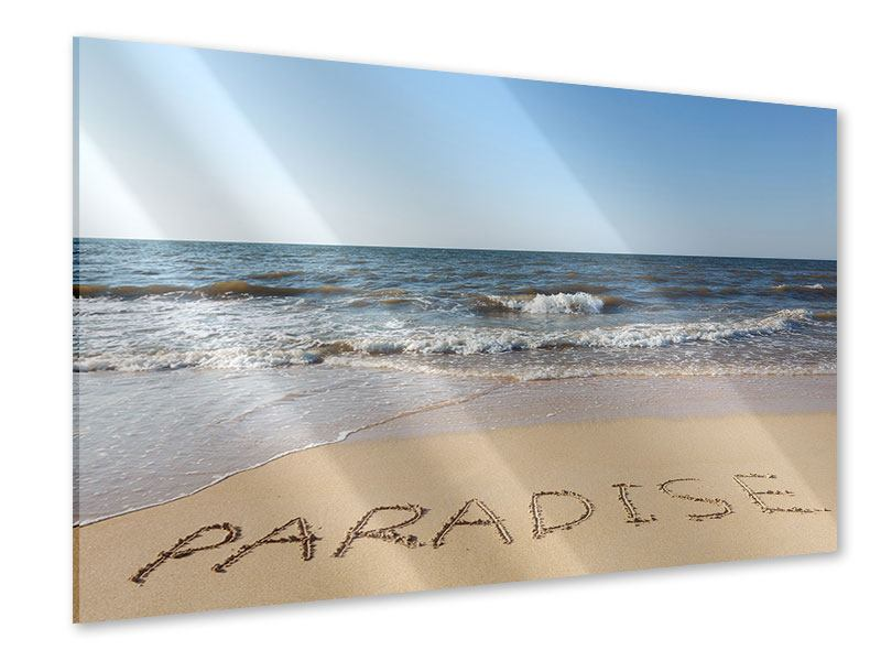 Acrylglasbild Sandspuren