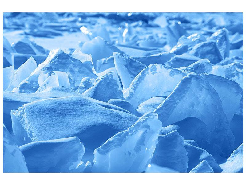 Acrylglasbild Eis des Baikalsees