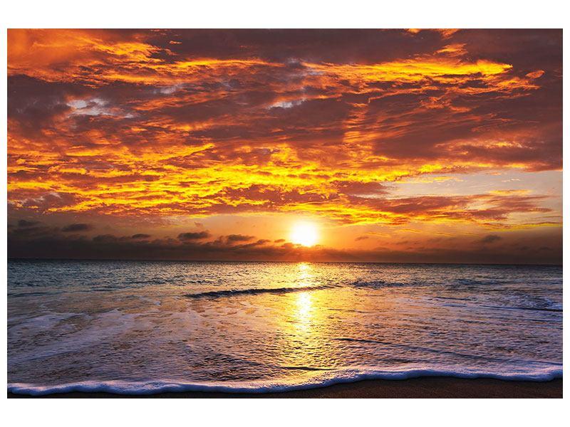 Acrylglasbild Entspannung am Meer