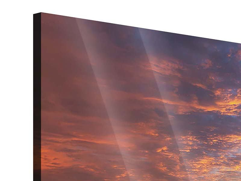 Acrylglasbild Sonnenuntergang