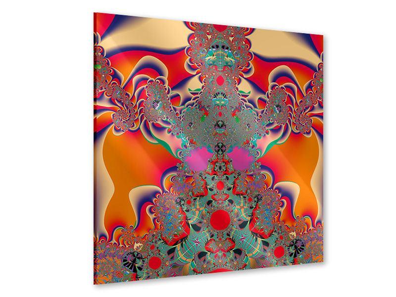 Acrylglasbild Psychedelische Kunst