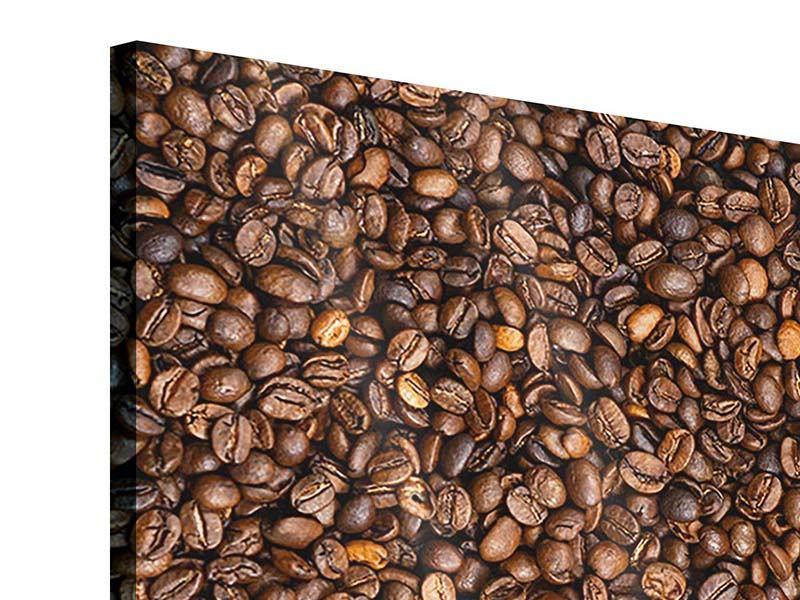 Acrylglasbild Kaffeebohnen
