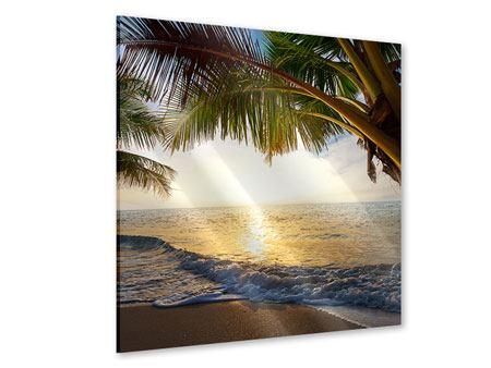 Acrylglasbild Strandsicht