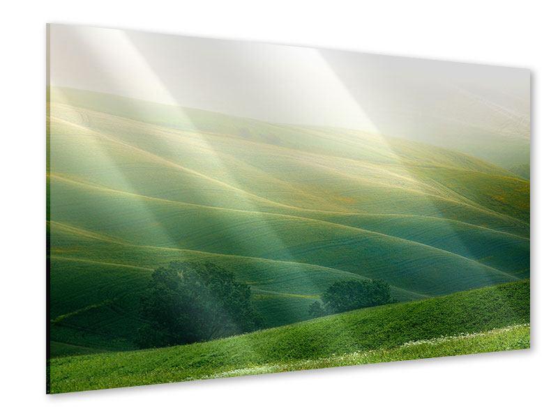 Acrylglasbild Toskana