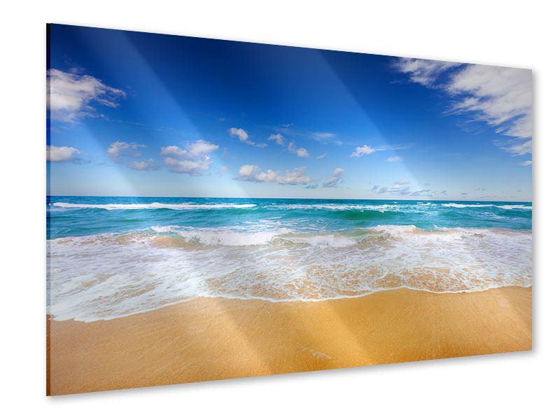 Acrylglasbild Die Gezeiten und das Meer