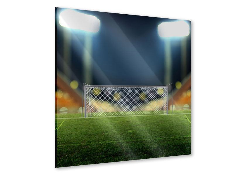 Acrylglasbild Fussballtor