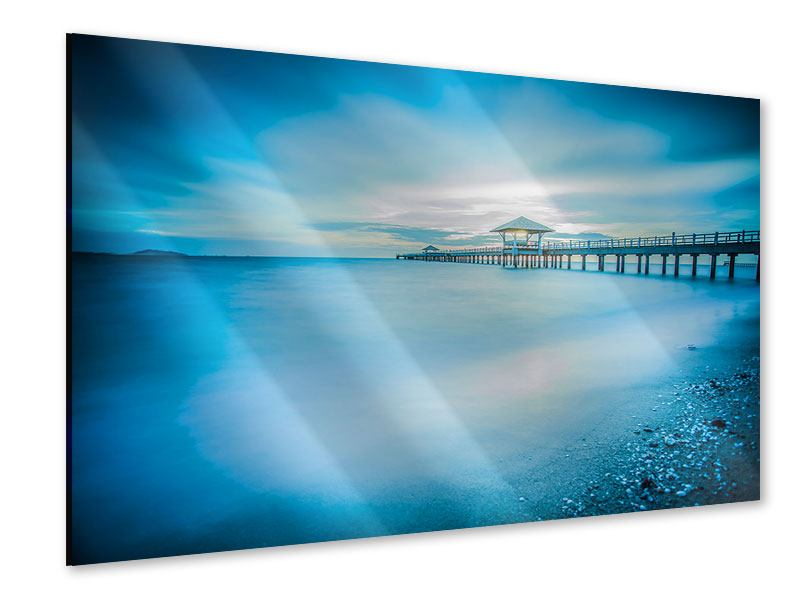Acrylglasbild Brückenimpression