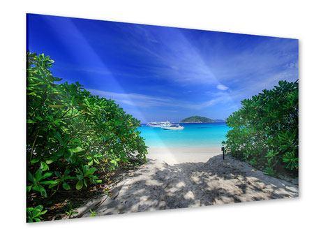 Acrylglasbild Similan-Inseln