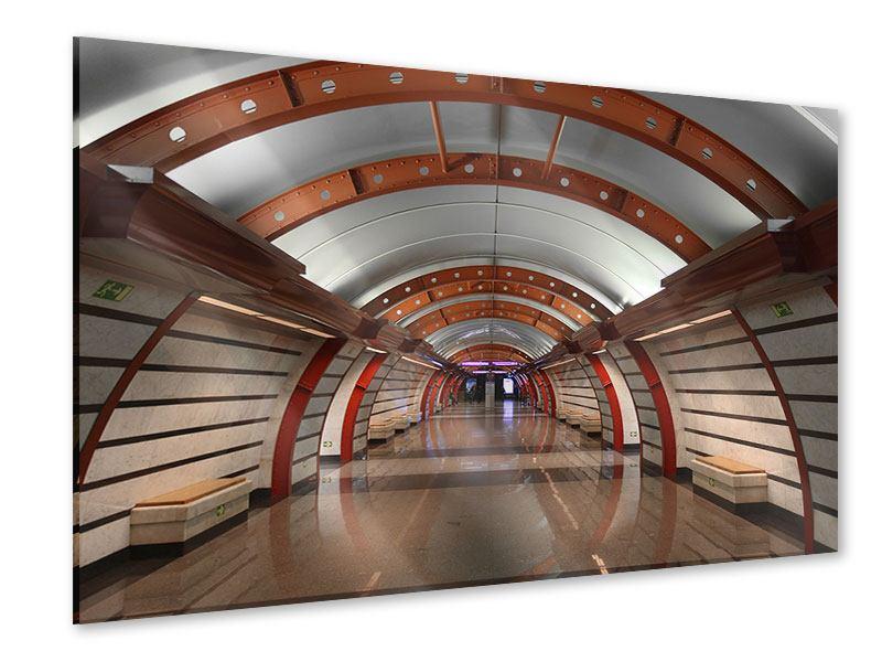 Acrylglasbild U-Bahn Station