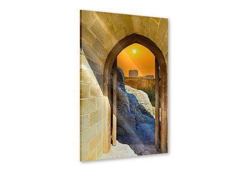 Acrylglasbild Das Tor