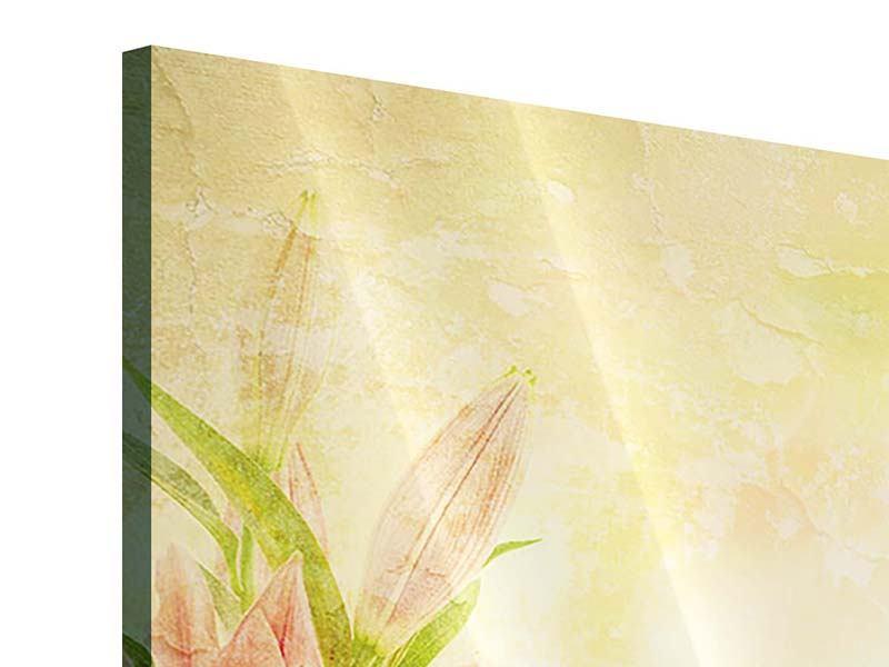 Acrylglasbild Lilien-Gemälde