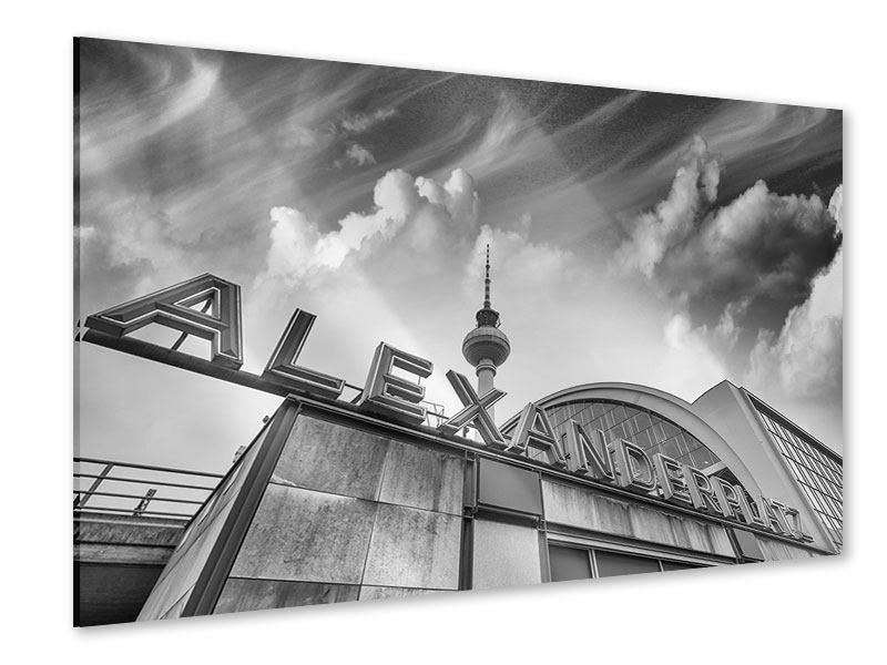 Acrylglasbild Alexanderplatz