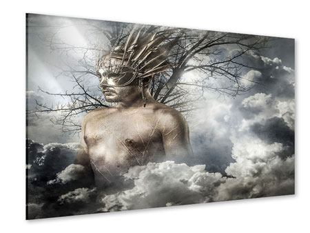 Acrylglasbild Gottheit