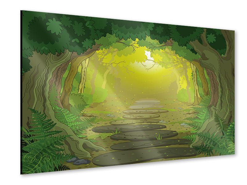 Acrylglasbild Der Märchenwald