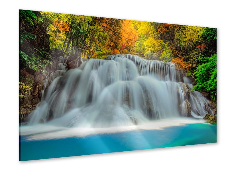 Acrylglasbild Fallendes Gewässer