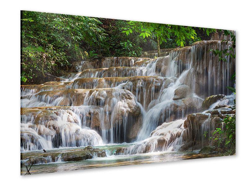 Acrylglasbild Mexikanischer Wasserfall