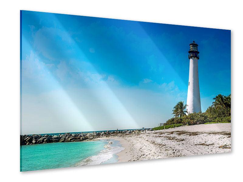 Acrylglasbild Cape Florida Ligthhouse