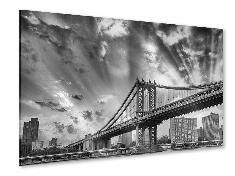 Acrylglasbild Manhattan Bridge