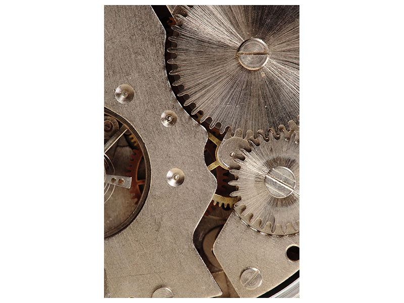 Acrylglasbild Uhrwerk