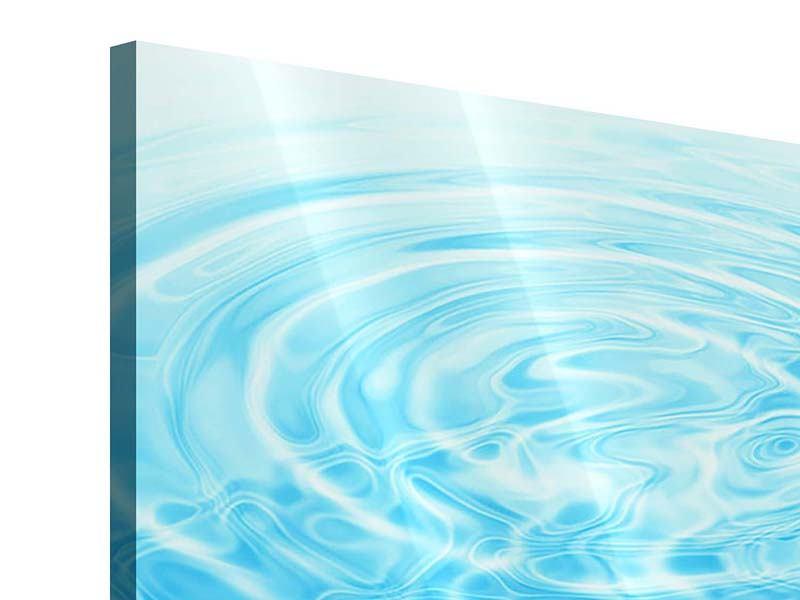 Acrylglasbild Abstraktes Wasserbad