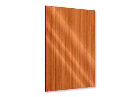 Acrylglasbild Holzchalet