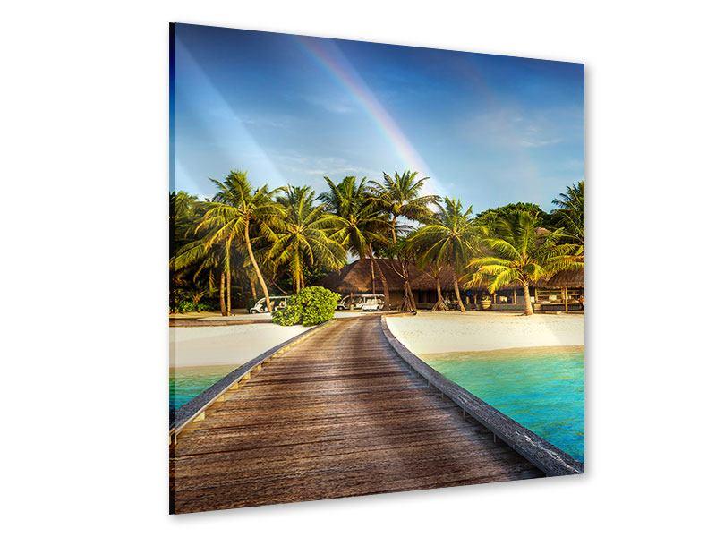 Acrylglasbild Inselparadies