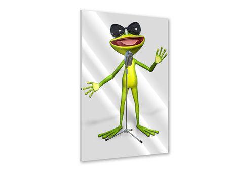 Acrylglasbild Froschstar