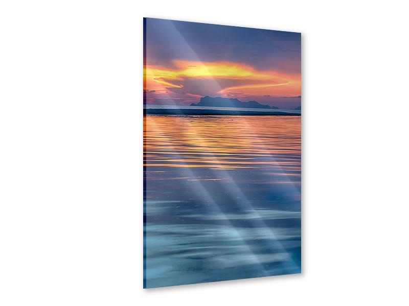 Acrylglasbild Ruhige See