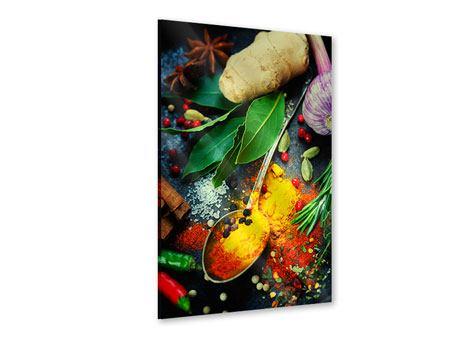 Acrylglasbild Der Gewürzlöffel