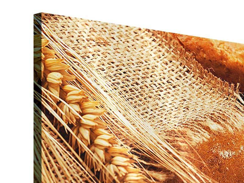 Acrylglasbild Frische Brote