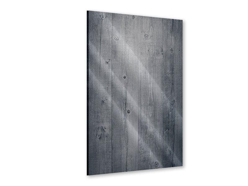 Acrylglasbild Holzschattierungen