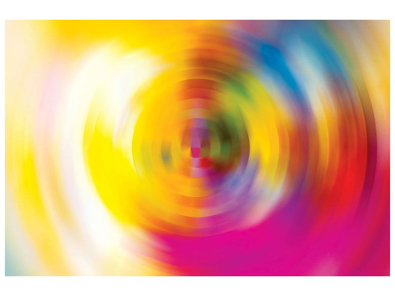 Acrylglasbild Abstrakte Farbkreise